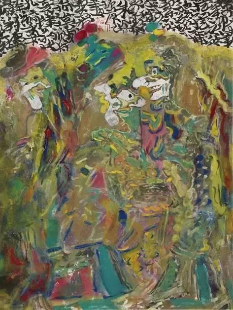 《绿衣黄裹》年代:2008 规格:34×46cm 品类:中国画