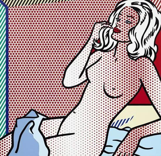 罗伊·利希滕斯坦的《晒阳光浴的裸女》