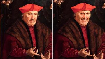 荷兰博物馆艺术品遭P图 脸带微笑