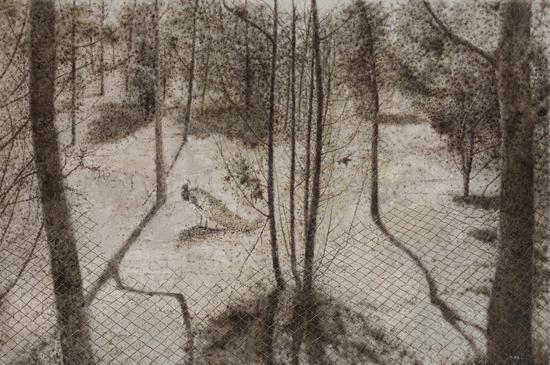 《逆乡愁》100x150cm  布面油画  2015