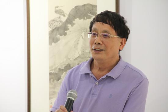 中国美术学院教授、博士生导师任道斌致辞