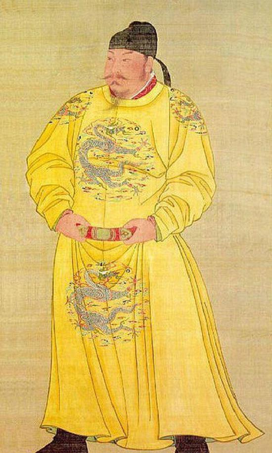 唐太宗画像