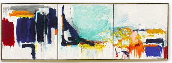 琼·米歇尔(Joan Mitchell), 《Three Seasons》 (1970-71)。图片:致谢苏富比