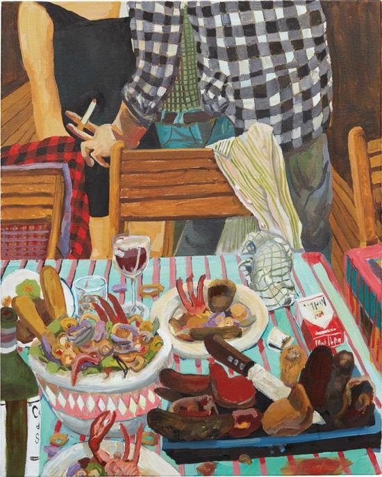 Celeste Dupuy-Spencer的《Ceviche and PeruvianMeat》(2011)。图片:致谢富艺斯