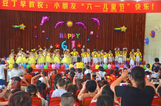 高淳小豆丁园桠溪开展庆六一文艺活动