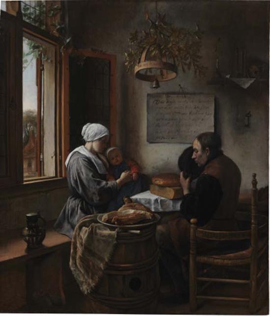 扬·斯特恩,饭后娱乐,1660