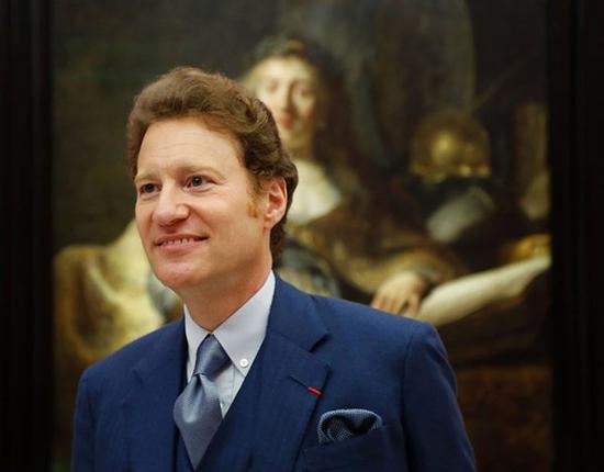 托马斯·卡普兰在卢浮宫