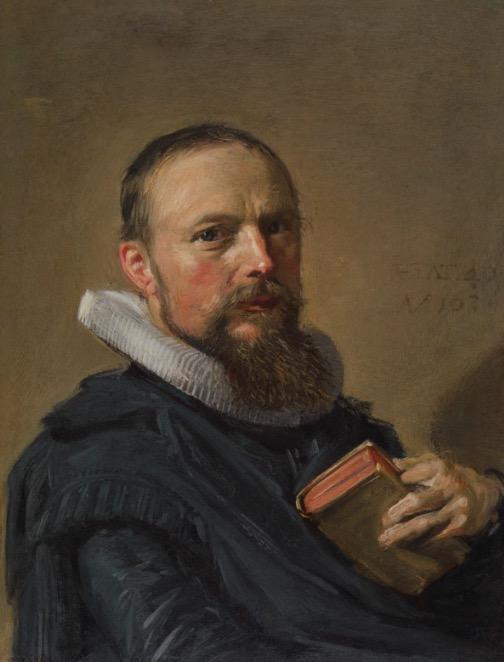 哈尔斯,Samuel Ampzing肖像,1630