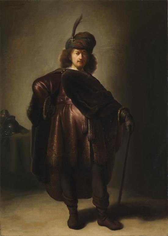 Isaac Jouderville,伦勃朗肖像,1631