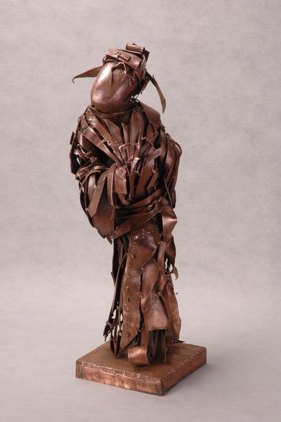 焦兴涛《才子》铜,1999