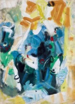 吴大羽飞光采韵 布面 油画 53.5×39cm
