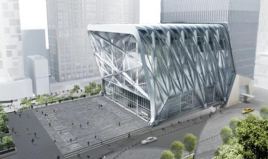 纽约人造了一间能变形的艺术中心