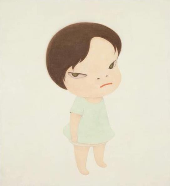 奈良美智(1959年生),《最后的战士/无名士兵》(2000年作),成交价格:港元$21,680,000