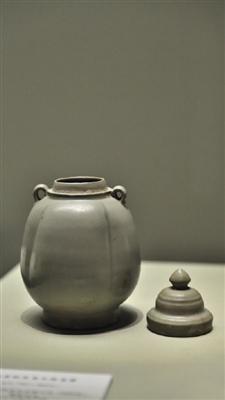 临安市博物馆藏五代瓜棱宝塔盖罐