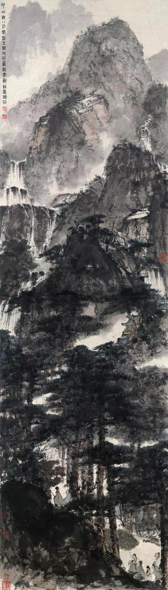 《杜甫九日蓝耕会饮诗意图》——9200万元