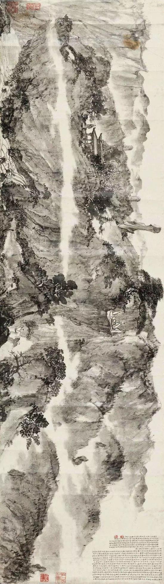 《云台山记图卷及设计稿》——4255万元