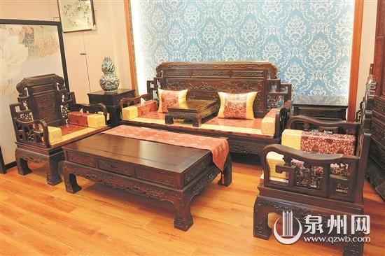 材质珍贵的红木家具兼具实用价值和收藏价值