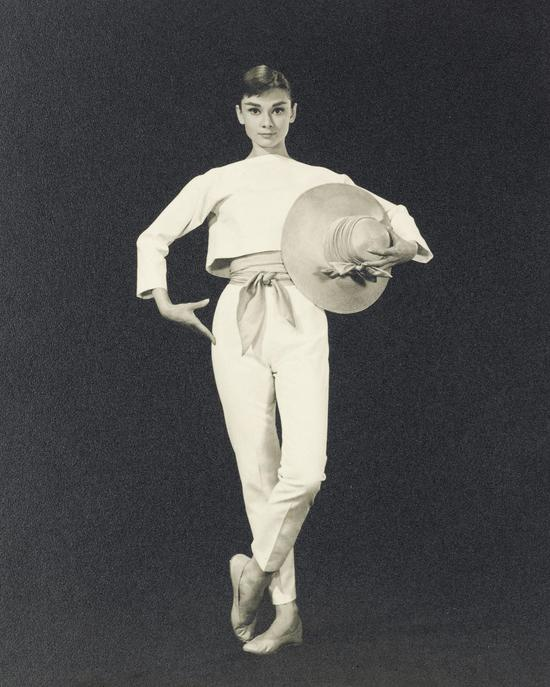 毕特?佛雷克(1916-2002),《奥黛丽?赫本》,1956 年,估价:1,000-2,000 英镑