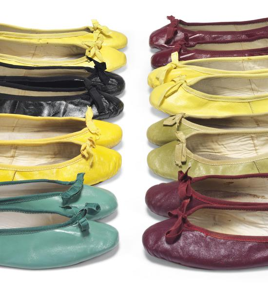 A selection of ballet pumps