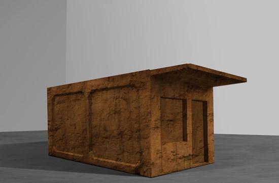 李怒-11平米-泥土, 木头-250cm×250cm×440cm-2017