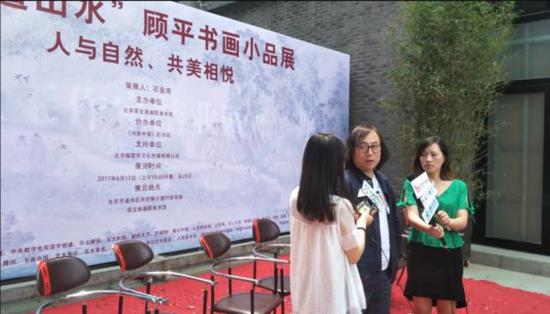 唐辉老师接受媒体采访