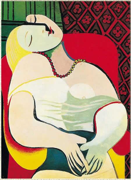 梦 毕加索 1932年 油画