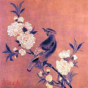 宋 《桃花山鸟图》