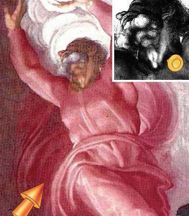 米开朗基罗画的秘密解剖学图像到底是什么意思?
