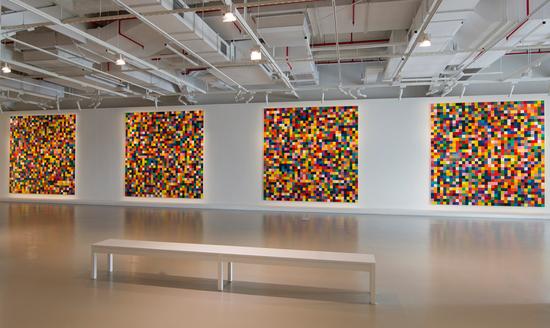 里希特作品在北京展出