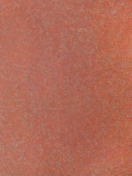 《格子里的风景2011-8》120X90cm  布面丙烯