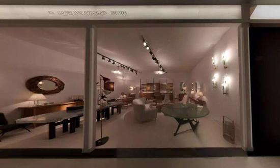 维也纳画廊Boghossian在伦敦大师艺博会的展位。图片:Screen shot via Masterpiece London 2017