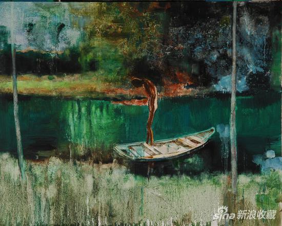 《我们》100x80 cm 2012 布面油画