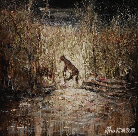 《故园不曾识》  110X110cm 2010