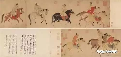 2016年,苏宁集团竞得清宫旧藏任仁发《五王醉归图卷》,成交价3.036亿元