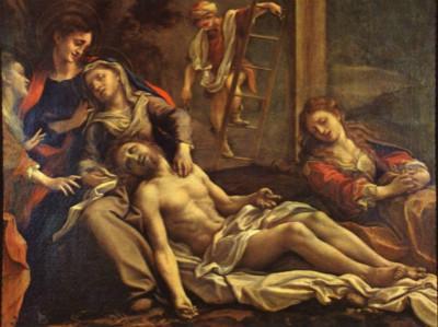 《基督被解下十字架》阿列格利·柯雷乔 1525 意大利