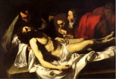 《基督下十字架》胡塞佩·德·里贝拉 1640 西班牙