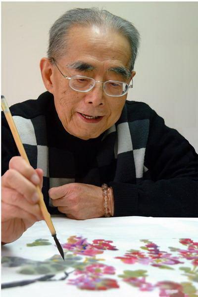 图说:海派书画大师程十发先生是上海美术的高峰