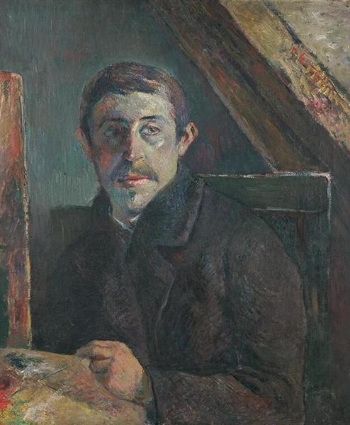 高更 Gauguin - 自画像