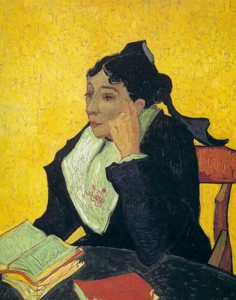 梵高 - 阿尔之妇女基努夫人