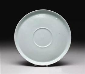 北宋汝窑青瓷盘,波士顿美术馆藏