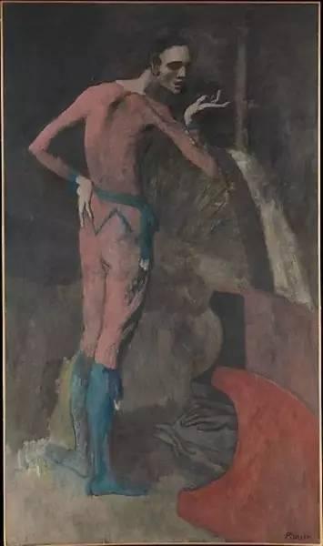 纳粹艺术品 毕加索,演员,1904