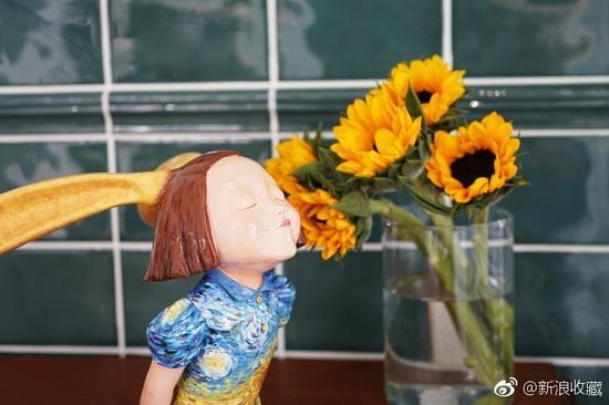 慈善拍第16天 稀奇・向京雕塑成交
