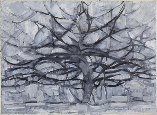 《灰色的树》(The grey tree ),1911年