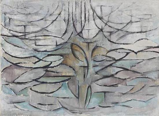 《开花的苹果树》(Flowering Apple Tree),1912年
