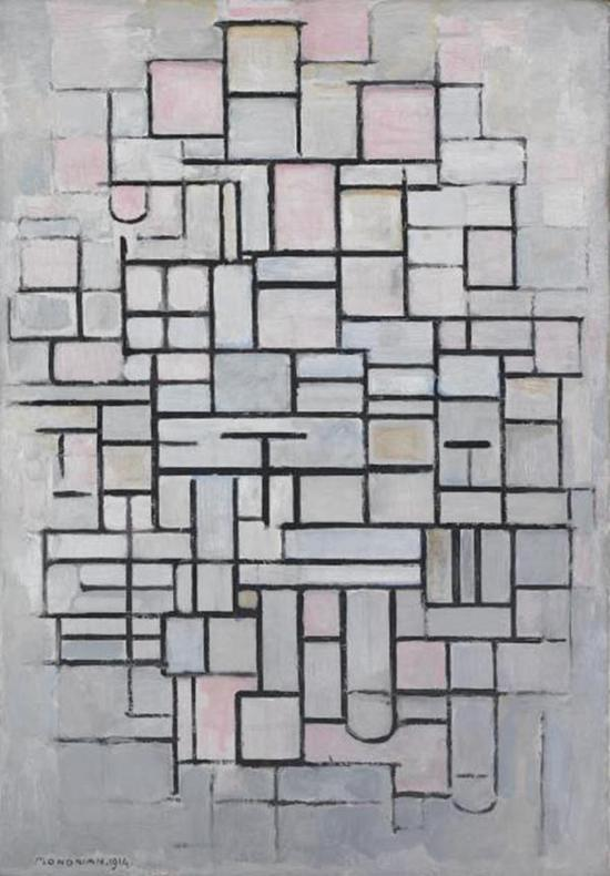 《Composition No.IV》,1914年