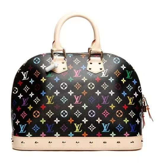Louis Vuitton Monogram Multicolore Alma 手包