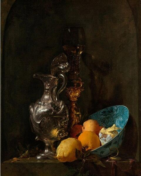 威廉·卡尔夫的静物画图片