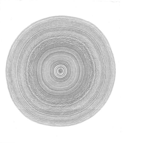 《天长地久》问道2012系列之一  80cmx80cm 2012