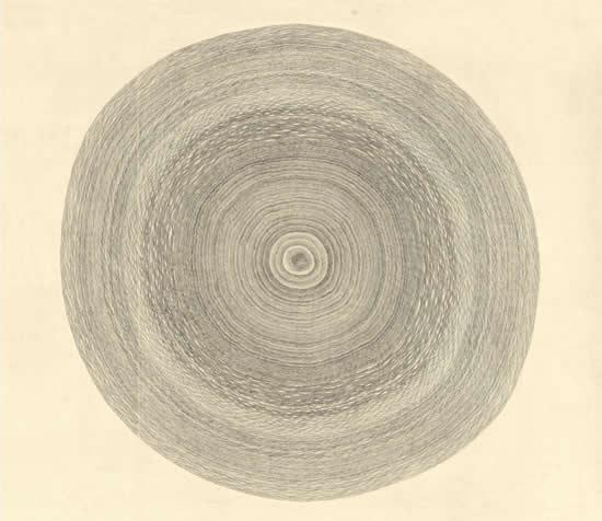 《天长地久》问道2012系列之一  80cmx80cm 2012年