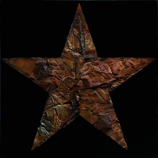 五角星 130X130cm 1999年